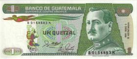 Guatemala P.066 1 Quetzal 1988 (1)