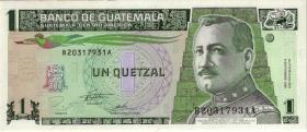 Guatemala P.087c 1 Quetzal 1995 (1)