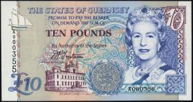 Guernsey P.57a 10 Pounds (1995) (1)