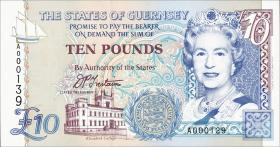 Guernsey P.57a 10 Pounds (1995) A 000189 (1)