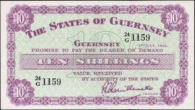 Guernsey P.42c 10 Shillings 1966 (1)