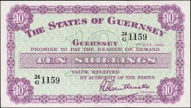 Guernsey P.42c 10 Shillings 1966 (1)