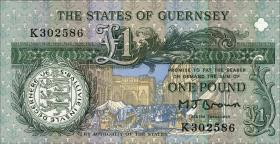 Guernsey P.52a 1 Pound (ab 1991) (1)
