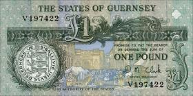 Guernsey P.52c 1 Pound (ab 1991) (1)