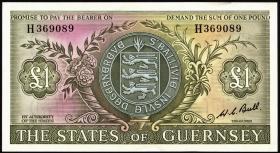Guernsey P.45c 1 Pound (1969-75) (1)