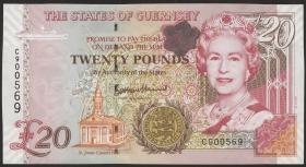 Guernsey P.58c 20 Pounds (2010) (1)