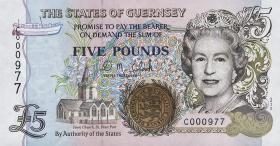 Guernsey P.56b 5 Pounds (1996) (1)