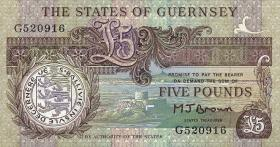 Guernsey P.53a 5 Pounds (1990-95) (1)