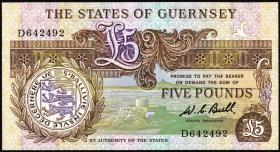 Guernsey P.49a 5 Pounds (1980-89) (1)