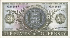 Guernsey P.45b 1 Pound (1969-75) (1)