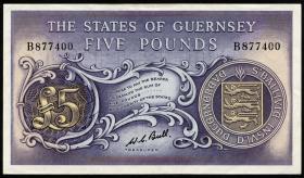 Guernsey P.46c 5 Pounds (1969-75) (1/1-)