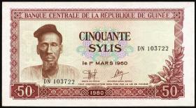 Guinea P.25 50 Sylis 1980 (1)