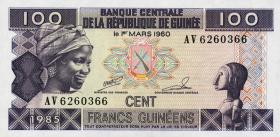 Guinea P.30 100 Francs 1985 (1)