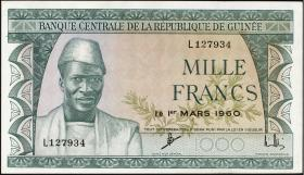 Guinea P.15 1000 Francs 1960 (1-)