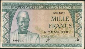 Guinea P.15 1000 Francs 1960 (3)