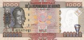Guinea P.40 1000 Francs 2006 (1)