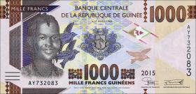 Guinea P.neu 1000 Francs 2015 (1)