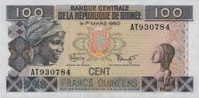 Guinea P.35a 100 Francs 1998 (1)