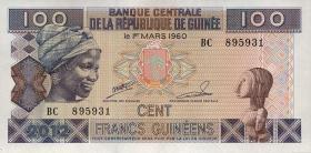 Guinea P.35b 100 Francs 2012 (1)