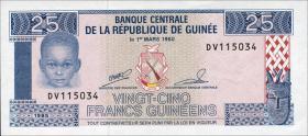 Guinea P.28 25 Francs 1985 (1)