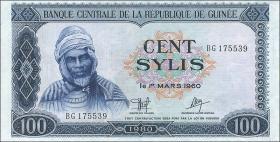 Guinea P.26 100 Sylis 1980 (1/1-)