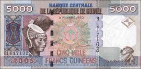 Guinea P.41a 5000 Francs 2006 (1)