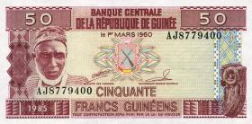 Guinea P.29 50 Francs 1985 (1)