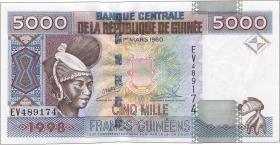 Guinea P.38 5000 Francs 1998 (1)