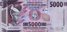 Guinea P.48 5000 Francs 2015 (1)