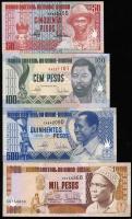 Guinea-Bissau P.10-13b 50 - 1000 Pesos 1990-93 (1)
