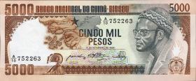 Guinea-Bissau P.09 5000 Pesos 1978 (1)