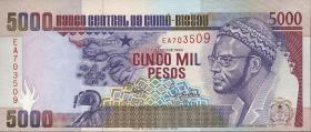 Guinea-Bissau P.14a 5000 Pesos 1990 (1)