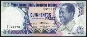 Guinea-Bissau P.07 500 Pesos 1983 (1)