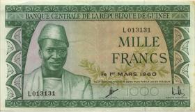 Guinea P.15 1000 Francs 1960 (3+)