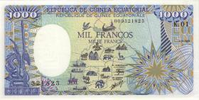 Äquatorial-Guinea P.21 1000 Francs 1985 (1)