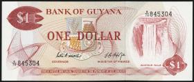 Guyana P.21d 1 Dollar (1966-92) (1)