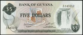 Guyana P.22d 5 Dollars (1966-92) (1)