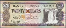 Guyana P.27 20 Dollars (1989) (1)