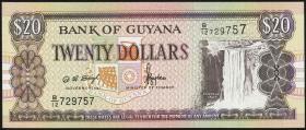 Guyana P.30b1 20 Dollars (1996) (1)
