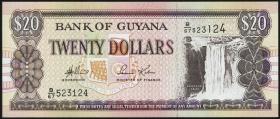 Guyana P.30d 20 Dollars (1996) (1)