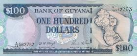 Guyana P.31 100 Dollars (1999) (1)