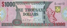 Guyana P.35 1000 Dollars (2000) (1)