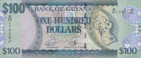 Guyana P.Neu 100 Dollars (2016) (1)