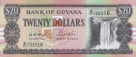 Guyana P.30b2 20 Dollars (1996) (1)