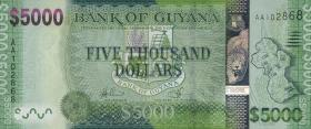 Guyana P.Neu 5000 Dollars (2013) (1)