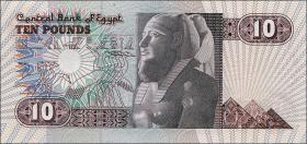 Ägypten / Egypt P.51 10 Pounds 1978-2000 (1)