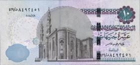 Ägypten / Egypt P.Neu 10 Pounds 2018 (1)