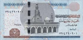Ägypten / Egypt P.Neu 5 Pounds 2018 (1)
