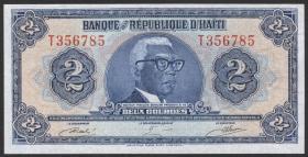 Haiti P.231A 2 Gourdes L. 1979 TYVEK (1)