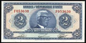 Haiti P.231 2 Gourdes L. 1979 (1980-82) (1)